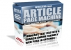 Gift You Article Page Machine with Many Bonus