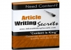 Gift You Article Writing Secrets with Many Bonus