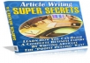 Gift You Article Writing Super Secrets with Many Bonus