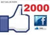 give you 20000 Facebook likes to any fan page or website only