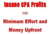 show u how to A KILLING ONLINE with CPA OFFERS and DATING SITES plus 4 powerful CPA BONUSES bonuses