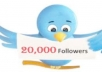 give you 20,000+ twitter followers