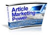 Give you Article Marketing Power