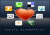 do manual social bookmarking in 250 sites