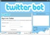 Give You Mini Twitter BOT To Get Thousend of Follower On Your Twitter Account Very Easy