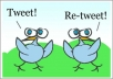 tweet your Message, ad, link and get you with 120 Retweets from real users in less than 2 days