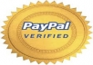 provide you a new verified paypal(USA) account
