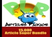 give 1500 PLR articles with full rights