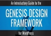 give you 41 genesis child themes with the main framework for