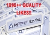give 5000 facebook likes REAL USER, USA UK CANADA