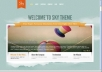 design up to 8 pages PREMIUM and Beautiful Wordpress Website