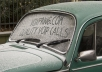 write your message on Forsted windscreen Front and Back