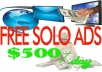Guide You To Make Over 500 Bucks Per Day With FREE Solo Ads in just 2 Hours Worth Of Work a Day