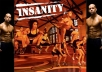 give you insanity workout by shaun T. complete video files