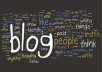 do 25 niche related blog comments