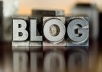 do 30 niche related blog comments