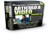 Give you a powerfull software that help you to convert your text article to a video in 45 secons