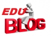 teach you how to create your blog and have your edu backlinks