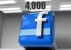 "4000 Real Facebook Fans that ""Like"" your  fanpages while not admin access"