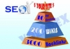 make linkpyramid with 10 stage 1 documents discussing websites, 200 stage 2 high pr wikis and 3000 stage 3 inbound links