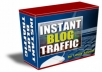 give you Ebook How to make Instant Blog Traffic + ebook about Web Design