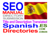 submit to 15 spanish directories MANUALLY spanish directories and translate title and metas