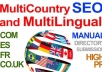 submit MultiCountry and MultiLingual High PR Manual Directory Submission com co uk fr es English French Spanish directories and more Langs