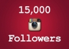 et you 15000 Top Quality Real Looking INSTAGRAM followers in less then 8 hours only