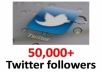 add 50,000+ real twitter followers no bot no eggs real and truely legit service all having profile picture and biograpy will not unfollow