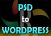 create a wordpress theme from your psd template