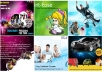 send you professional flyers provide upto 5 revisions and psd too