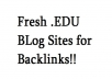 Give you a rankings boost when you use this list of over 80 EDU pages for backlinks