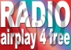 help to get your music on the radio. For that i will give you a list of real European radio stations that are willing to play your music for free. Get radio airplay now, all only