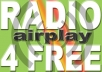 get your dance music track on the radio. For that i will give you a list of real radio stations that are willing to play your dance track for free. Get radio airplay now, all only