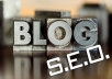 create for you an amazing SEO Blog for you in any topic you want and submit it to 2 High Quality Authorized blog sites