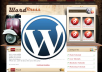 Install Wordpress blog on your server with your plugins