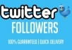 provide 6027+twitter followers in your account
