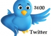 add 3400 twitter followers in your profile to boost your twitter followers count to improve yours search for $15