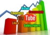 deliver Real Organic 35 likes and 15 sensible comments on your YouTube video