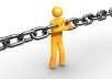 provide 1200 Permanent DoFollow Backlinks to your site homepage or inner page for high rankings with 4 old Blogs