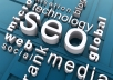 help you get to googles 1st page with my personal seo method and INCREASE your traffic