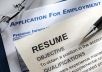 give you my personal 100 top tips on writing an EXCELLENT resume plus a free bonus
