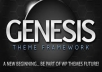 give you studiopress genesis parent theme and all the child themes
