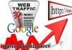 send 5000+ visitors via Google to your website