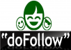 Send you my awesome fresh list of over 1100 do follow urls where you can leave your backlink