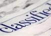 post your classified ad to more than 800 classified ads sites