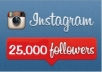 Give you 25000+ High Quality Instagram Followers