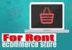Rent You 11 Ecommerce Stores using Wordpress