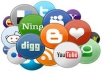 give you 200 Social Bookmarking Backlinks to boost your website