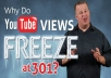 unfreeze YouTube 301 views